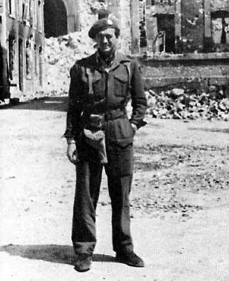 David Niven Normandy 1944 RMCommando